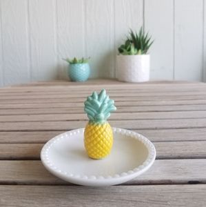 Pineapple Jewelry  Dish